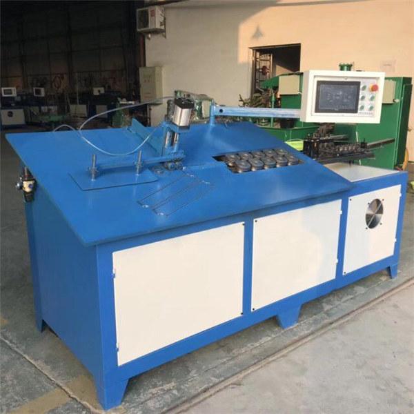 2D CNC automātiskā tērauda stiepļu liekšanas mašīna