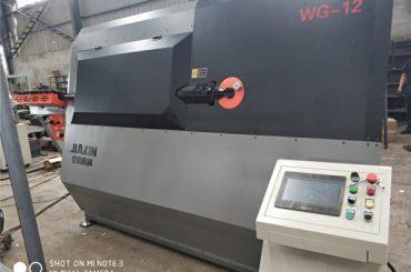 4-12mm hidrauliskās automātiskās cnc 2D stieples locīšanas iekārtas piegādātājs