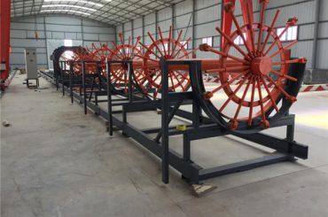 tērauda pāļu būru metināšanas iekārta, tērauda reversa būru veidošanas mašīna