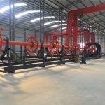 būvniecības pāļu būris metināšanas mašīnas šuves metinātājs ar ISO